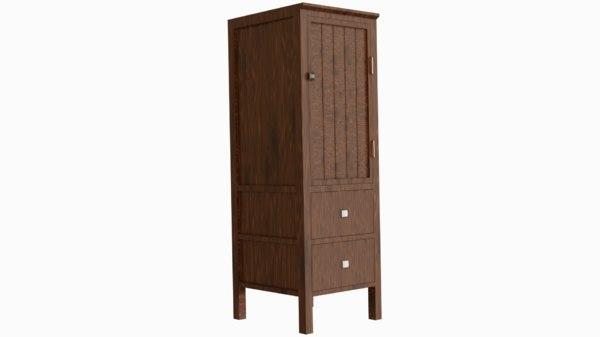 3D model furniture cupboard furnishings