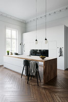 White Kitchen by Kvik
