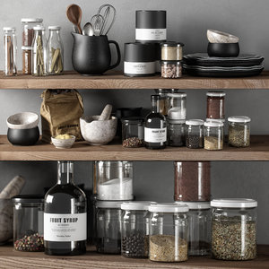 kitchen decor set 03 3D