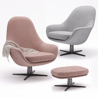 Flexform Armchair Sveva Soft