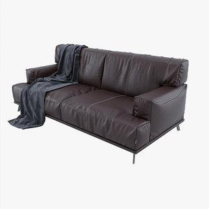 sofa rocco 3D model
