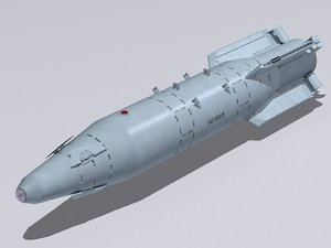 3D kab-1500lg bomb model