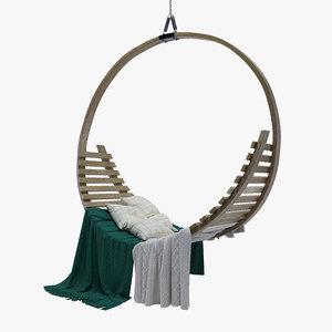 tom raffield amble hanging 3D