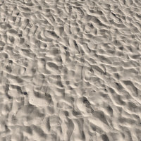 Ultra realistic Beach sand Scan