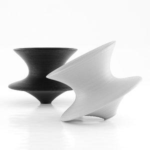 3D magis spun armchair chair model