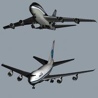 3D boeing 747 sp