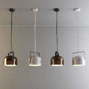3D bag lamps karman model