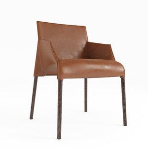 3D poliform seattle chair seat