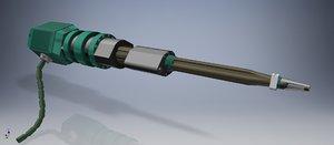 canon laser 3D model