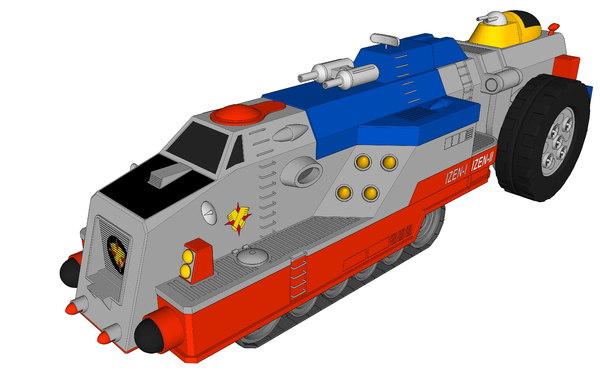 i-zenborg carrier 3D model