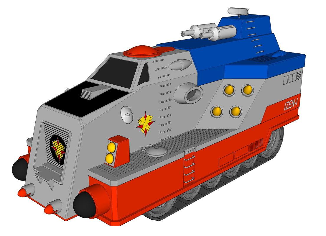 3D i-zen model