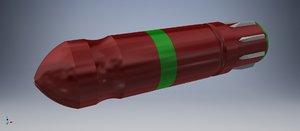 fuses m-105 3D model