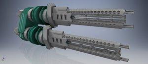 3D plural canon model