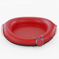 red rafting 3D model