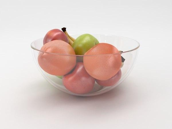 fruit bowl model
