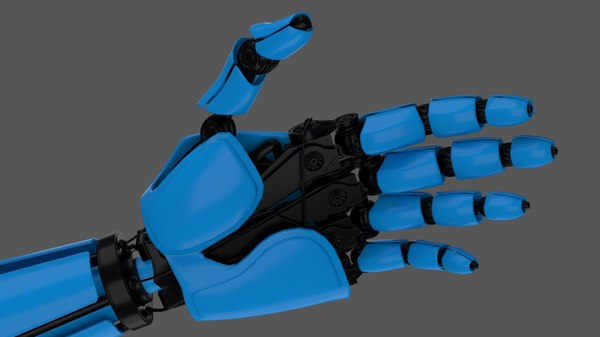 Robot Hand 3D Models for Download | TurboSquid