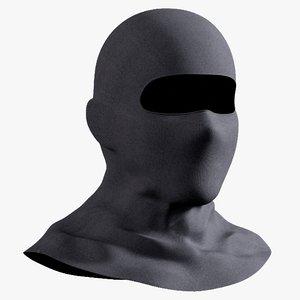3D swat hood lightwieght