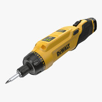 dewalt dcf680n2 gyroscopic screwdriver 3D