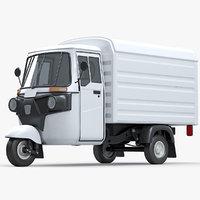 bajaj delivery van vehicle model