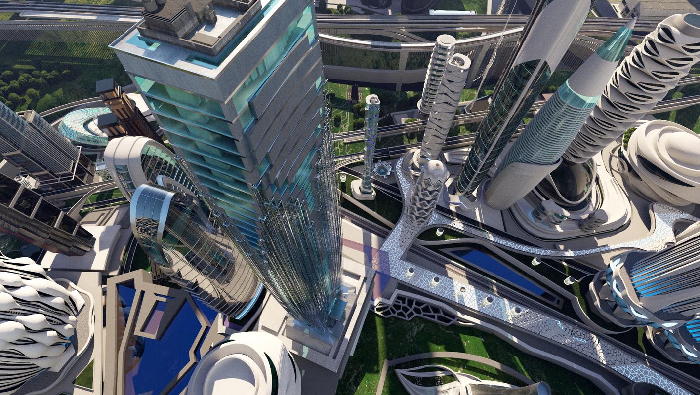 scene city buildings 2 3D