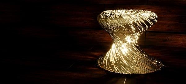 3D nordsk modina steel lamp