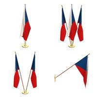 Czech Republic Flag Pack