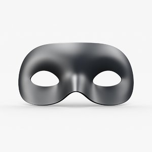 carnival mask modeled model