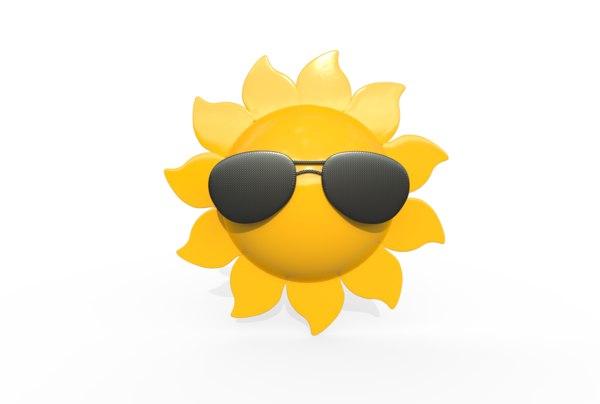 3D cool sun model