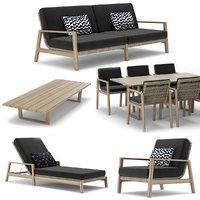 RH Outdoor Mesa Collection
