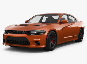 dodge charger hellcat 3D