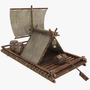 real raft 3D model