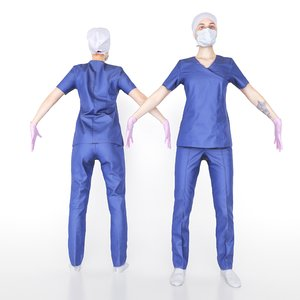 3D woman surgical