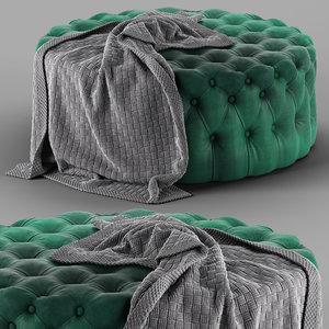 loftdesigne pouf 1520 model