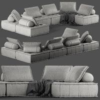 sofa 2945 seat 3D