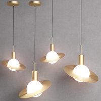 SATURNE pendant lamp by C.V.L.