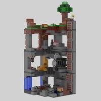 3D adventures mines lego minecraft