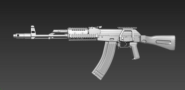 3D model ak107