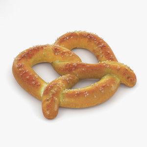 pretzel food 3D model