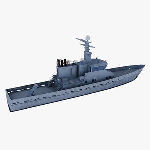 ship p520 obj