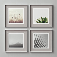 3D picture frames set model