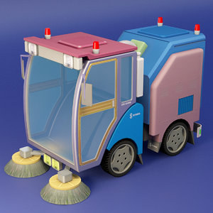 street cleaner 3D