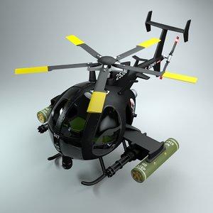 ah little bird 3D model
