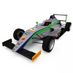 tatuus t014 formula 3D model