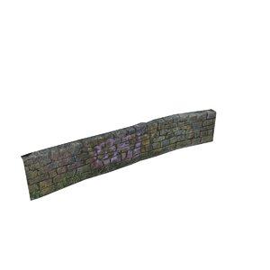 photoscanned wall - 3D model