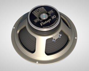 volume electronic speaker 3D