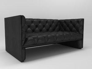3D edwards sofa