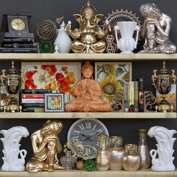 3D model decorative set