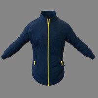 jacket hiking 3D model