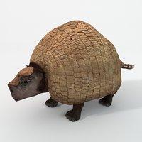 gliptodonte 3D model