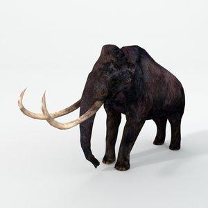 3D model mammoth